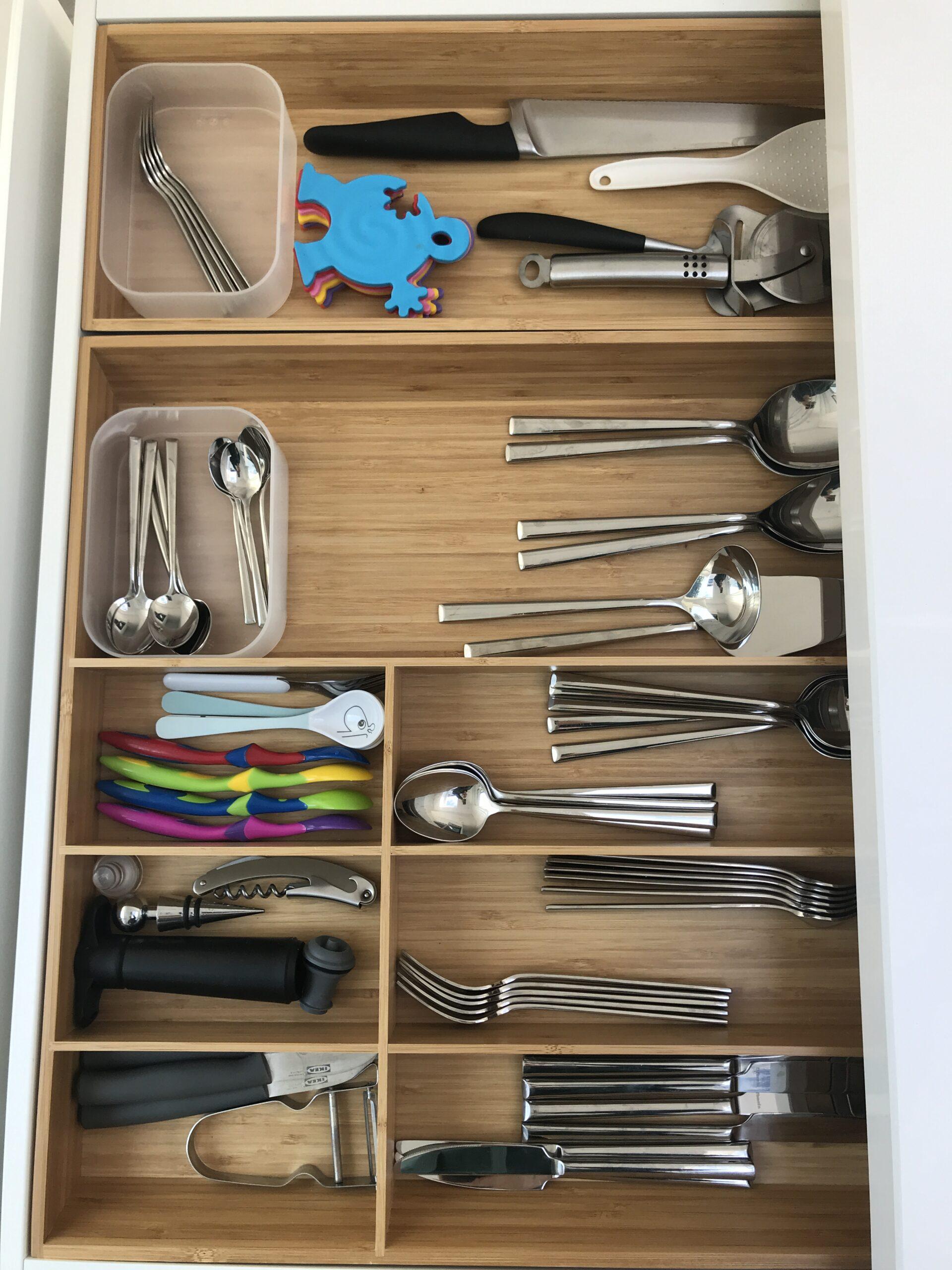 Ook vorken kunnen rechtop staan!